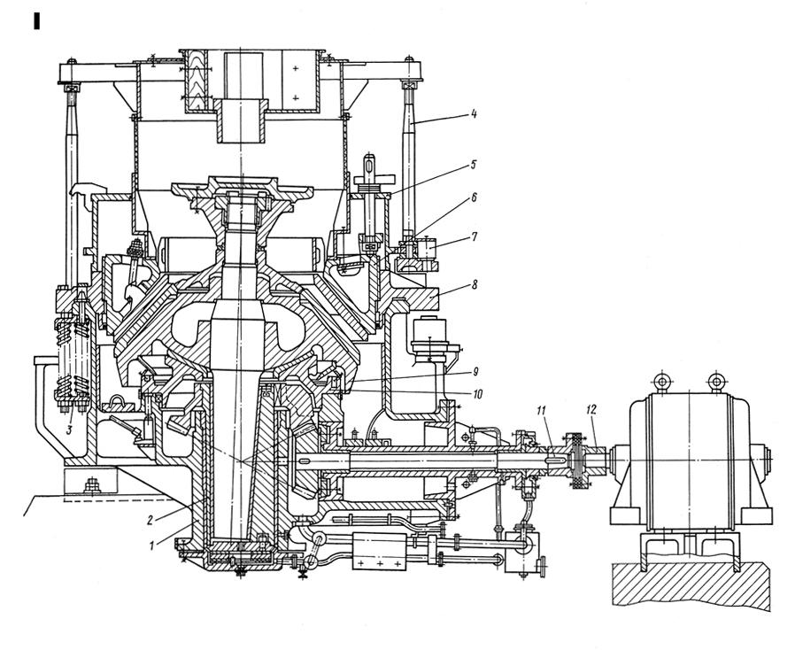 Конусная дробилка среднего д дробилка смд 118 в Липецк